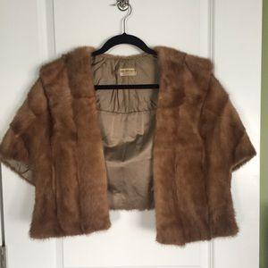 Authentic fur stole